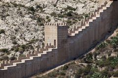 Defensive Wall Stock Image
