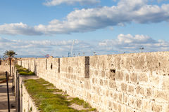 Defensive Wall Royalty Free Stock Photo
