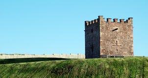defensywny fortu wojskowy góruje zdjęcie royalty free