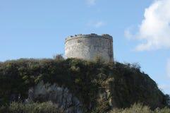 Defensywy wierza, Plymouth Devon UK zdjęcie royalty free