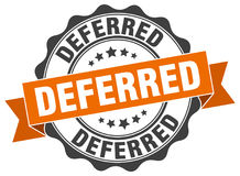 Deferred seal Stock Images