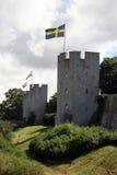 Defesa-linha medieval Imagens de Stock Royalty Free