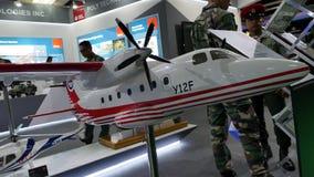 a 15a defesa presta serviços de manutenção à exposição 2016 de Ásia Imagens de Stock