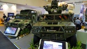 a 15a defesa presta serviços de manutenção à exposição 2016 de Ásia Fotografia de Stock Royalty Free