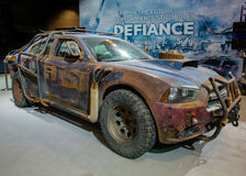 Defiance Law Keeper Dodge Charger Royalty Free Stock Photos