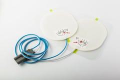 Defibrillator łaty zdjęcie stock