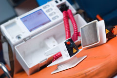 Defibrillator Immagini Stock