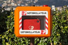 Defibrillator Royalty Free Stock Photo