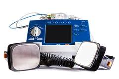 Defibrillator Fotografering för Bildbyråer