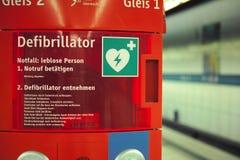 defibrillator Imagen de archivo libre de regalías