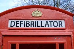 defibrillator Στοκ εικόνες με δικαίωμα ελεύθερης χρήσης