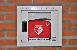 Defibrillator Royalty Free Stock Photos