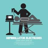 Defibrillator Electrodes Symbol Royalty Free Stock Images