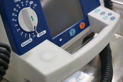 Defibrillator im Krankenhaus Lizenzfreie Stockbilder