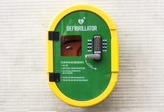 Defibrillator noodsituatie stock foto's