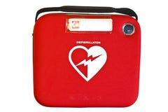 Defibrillator o AED externo automatizado Imagen de archivo libre de regalías