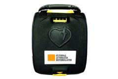 Defibrillator o AED externo automatizado fotografía de archivo