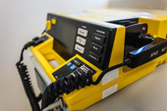 Defibrillator unit Royalty Free Stock Photo