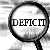 Deficit Royalty Free Stock Photo