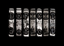 Deficit Stock Photography
