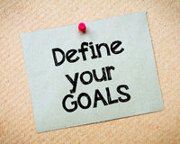 Define your GOALS Stock Photography