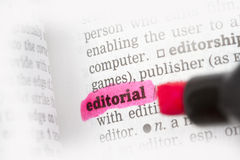 Definição de dicionário editorial imagem de stock royalty free