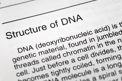 Definição material genética da saúde do ADN da estrutura imagens de stock royalty free