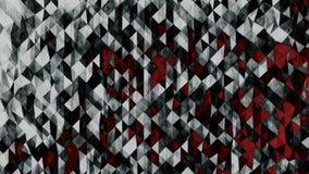Definição poligonal abstrata do fundo 8K imagens de stock royalty free