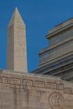 Defining the D.C. Skyline--Washington Monument Stock Photos