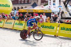 Definitief stadium van Tour DE Pologne in Krakau Royalty-vrije Stock Foto