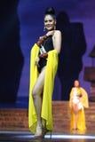 Definitieve Ronde van Misser Supranational Thailand 2017 op groot stadium a Royalty-vrije Stock Foto
