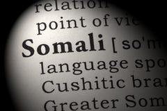 Definition av somaliskt Arkivbilder