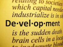 Definition: Development Stock Photos