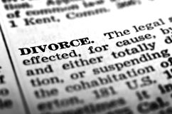 Definition of Divorce Ending of Marriage Legal Law royalty free stock photos