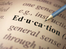 Definition: Education Royalty Free Stock Image
