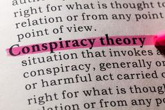 Free Definition Of Conspiracy Theory Royalty Free Stock Images - 110899059
