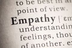 Free Definition Of Empathy Royalty Free Stock Image - 153522336