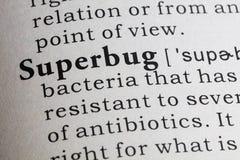 Definition von Superbug Lizenzfreies Stockfoto