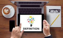 DEFINITION word, business concept Royalty Free Stock Image