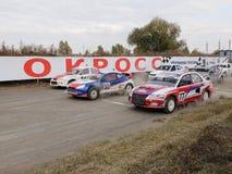 Definitywna filiżanka Rosja w autocross Zdjęcie Royalty Free