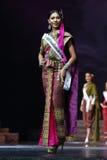 Definitywny Round chybienie Ponadnarodowy Tajlandia 2017 na dużej scenie a Obraz Royalty Free