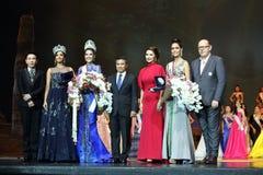 Definitywny Round chybienie Ponadnarodowy Tajlandia 2017 na dużej scenie a Obraz Stock