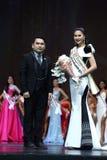 Definitywny Round chybienie Ponadnarodowy Tajlandia 2017 na dużej scenie a Fotografia Stock