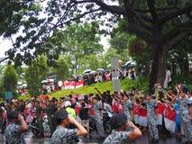 Definitywny salut Mr Lee Kuan Yew Fotografia Royalty Free