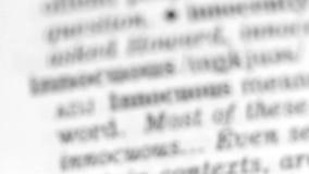 Definizione di dizionario - innovazione stock footage