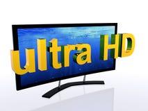 Definizione TV ultra alta Fotografia Stock
