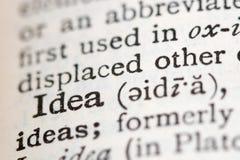 Definizione in un dizionario Fotografie Stock Libere da Diritti