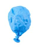 Deflated balloon isolated Stock Images