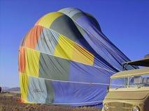 Deflating balloon Royalty Free Stock Photography