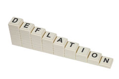 deflation Royaltyfria Bilder